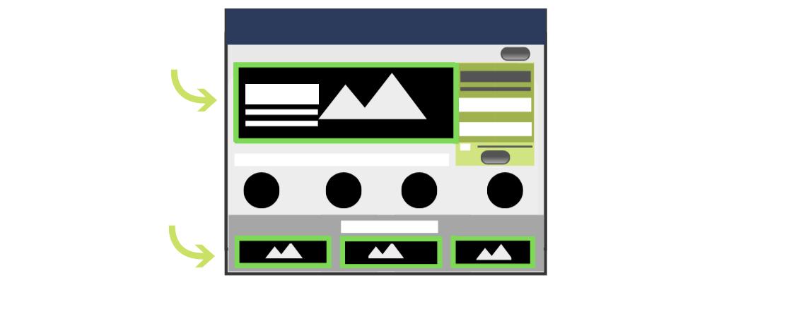 Contenido Multimedia en Landing Page