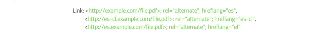 Hreflang HTTP