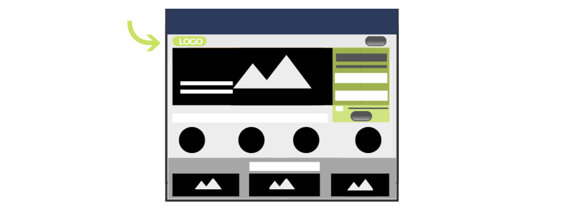Logo de Landing Page