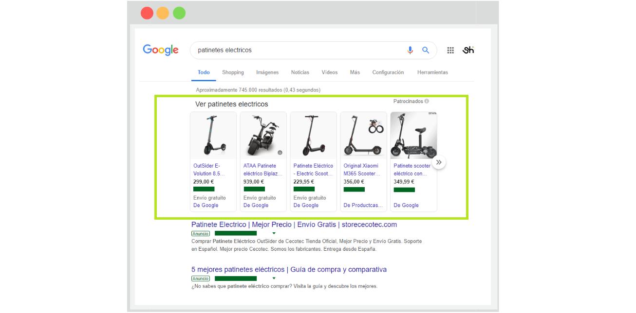 Que es Google Shopping